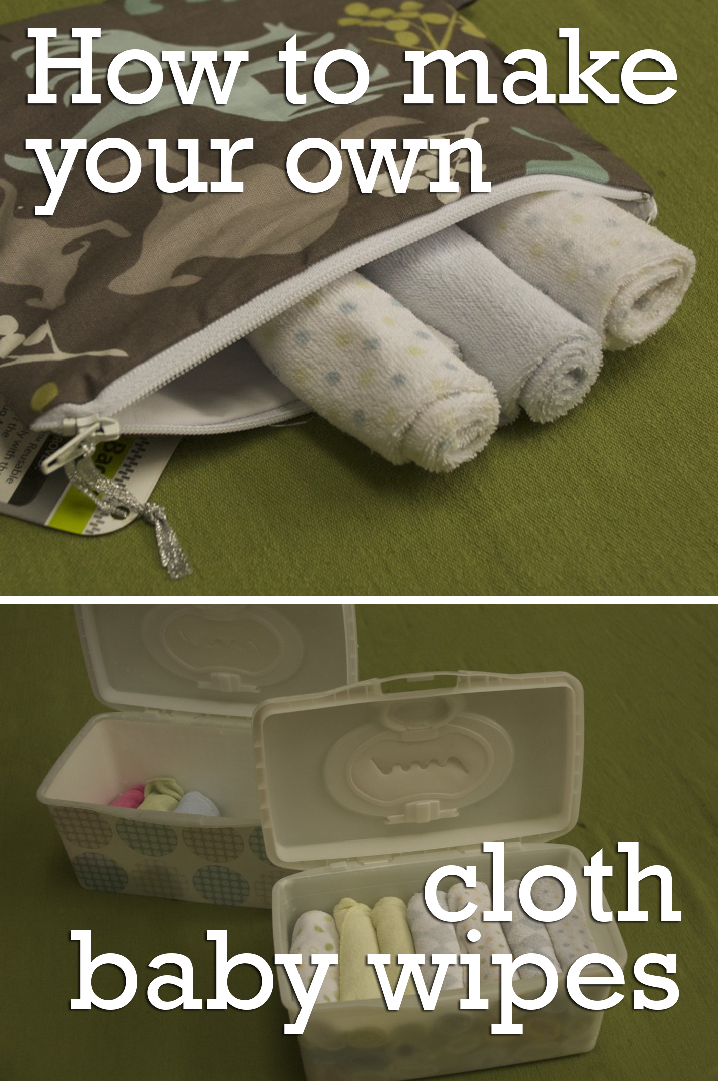how to use cloth baby wipes
