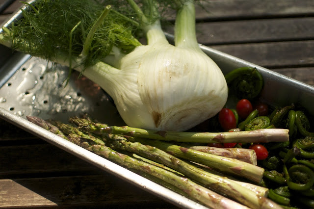 Recipe: Fantastic Fennel and Fiddleheads!