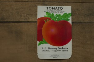 Wordless Wednesday: Vintage Tomato Seed Pack