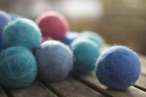 DIY Felted Wool Balls for Busy Toddlers