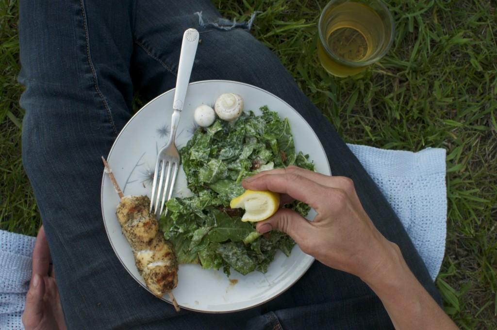 Picnic Salad with County Cider www.CubitsOrganics.com