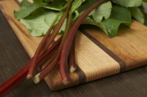 Eastern Ontario Rhubarb: Crisp in the County