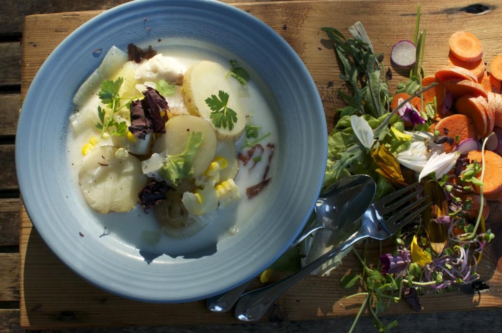 Fish Chowder www.cubitsorganics.com