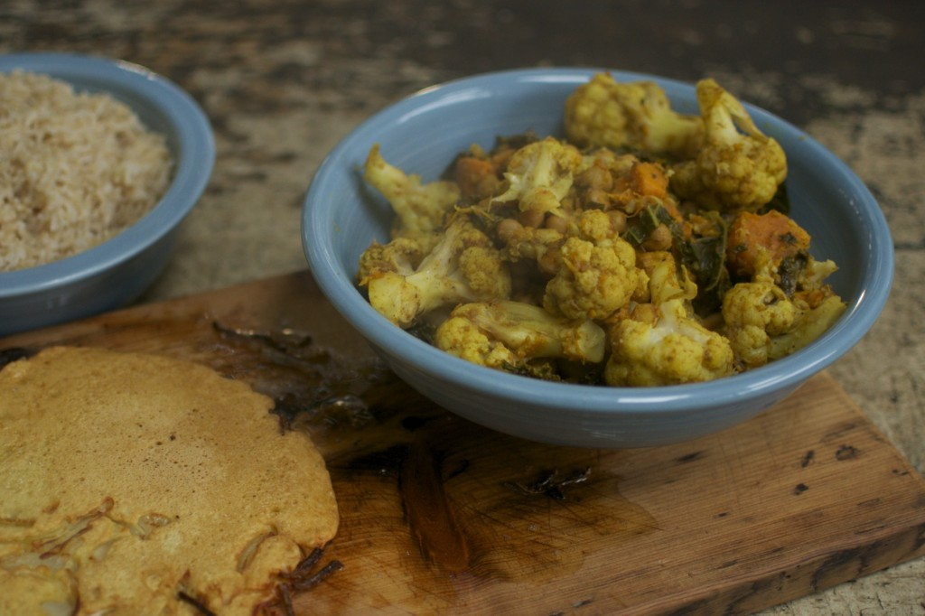 Cauliflower Curry www.CubitsOrganics.com