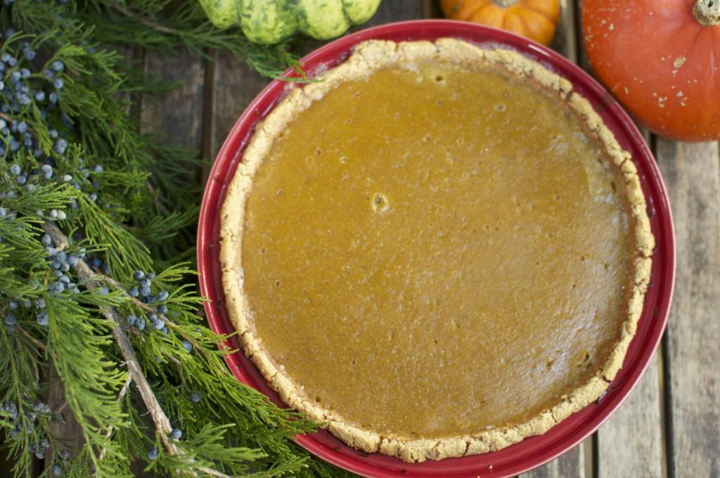 Gluten Free Pumpkin Pie www.CubitsOrganics.com