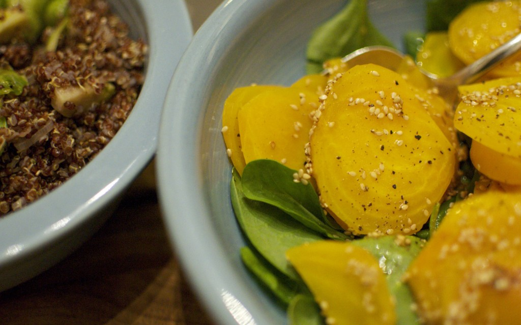 02.01.2014 Beet salad from Bon Appetit.