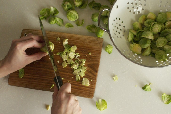 Brussels Sprouts with Bacon and Walnuts? Yes Please!