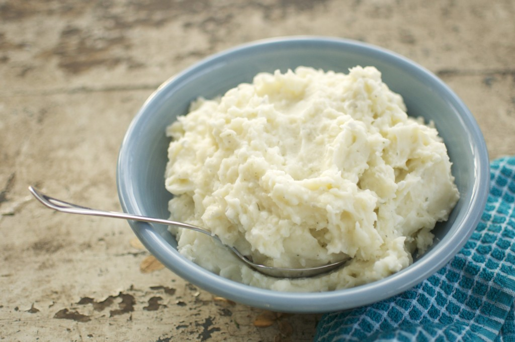 Mashed Potatoes with Cottage Cheese www.CubitsOrganics.com