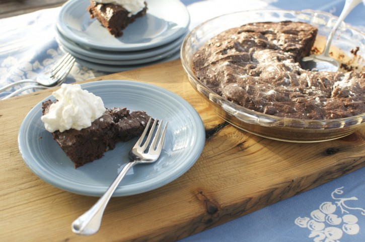 It's just a brownie afternoon.