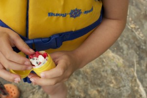 Kinder surprise on the Canadian Shield #kindermom www.cubitsorganics.com
